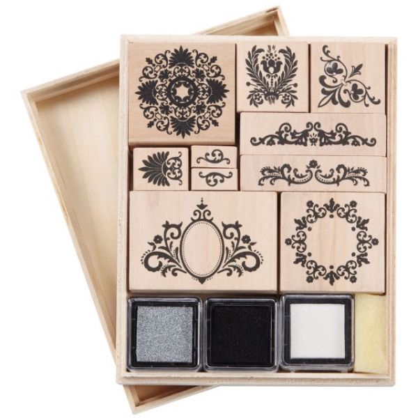 "Martha Stewart Mounted Stamp Set 5""X6.5"""
