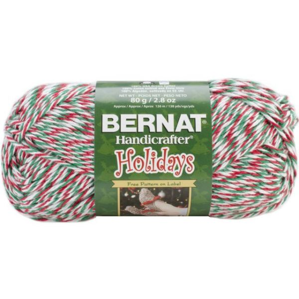 Bernat Handicrafter Holidays Yarn - Yuletide Twists