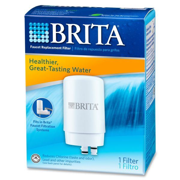 Brita Faucet Filter System Replacement Filter