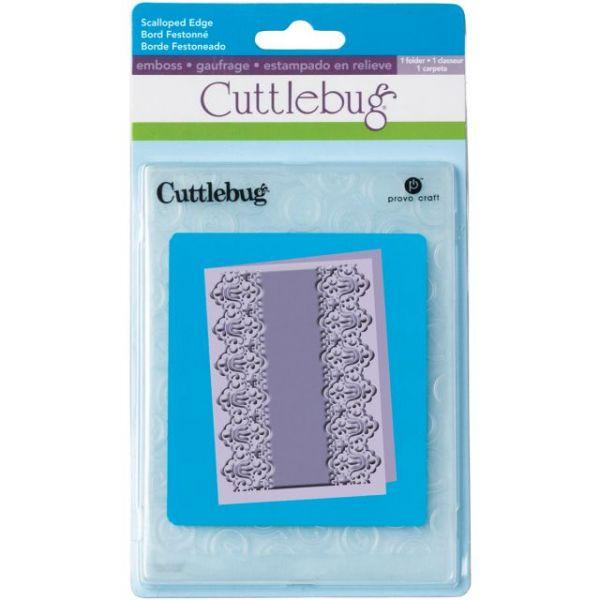 "Cuttlebug 5""X7"" Embossing Folder"