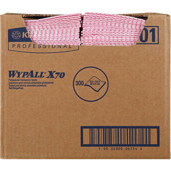 WypAll X70 Foodservice Wipers