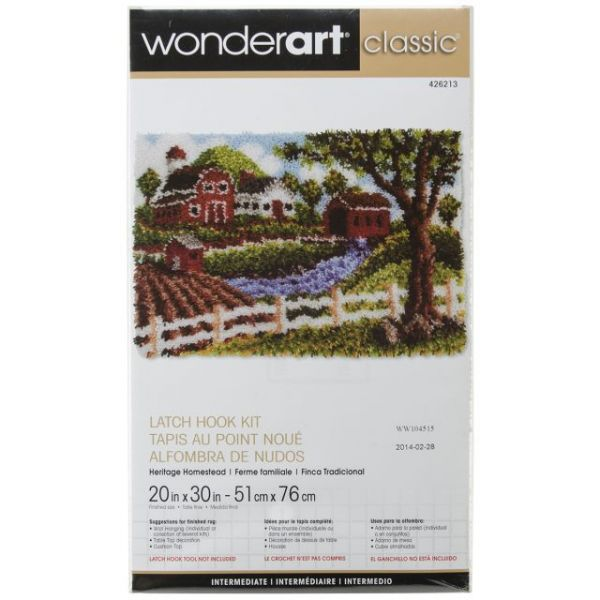 Wonderart Classic Latch Hook Kit