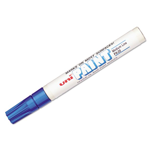 Sanford uni-Paint uni-Paint Marker, Medium Point, Blue