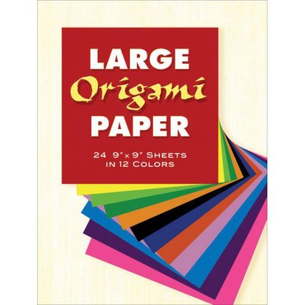 """Large Origami Paper 9""""X9"""" 24/Pkg"""