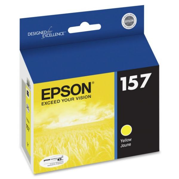 Epson UltraChrome K3 157 Yellow Ink Cartridge (T157420)