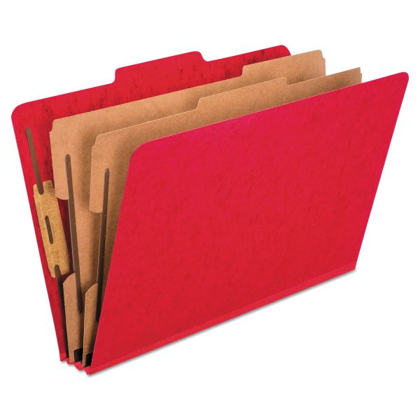 Oxford 2-Divider Pressboard Classification Folders