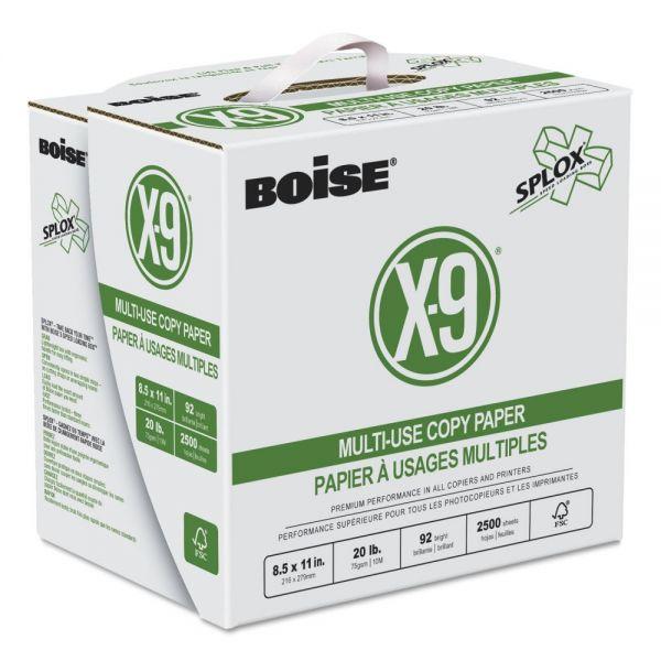 Boise X-9 White Copy Paper