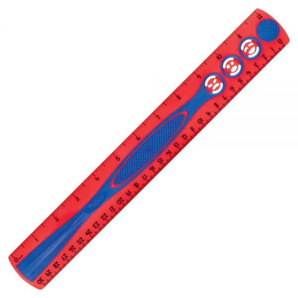 "Helix 12"" Kid Grip Ruler"