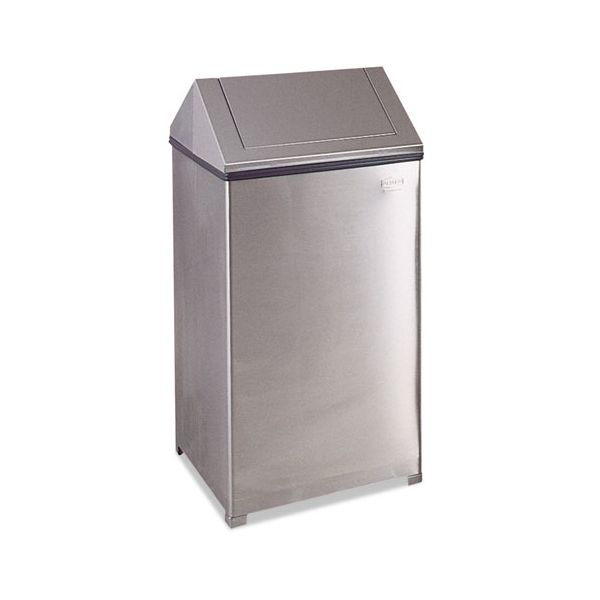 Rubbermaid Commercial Fire-Safe Swing Top 40 Gallon Trash Can