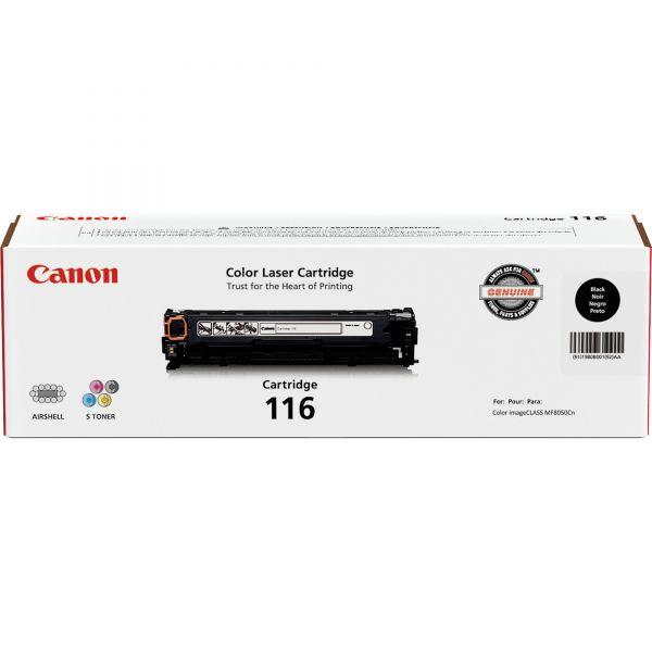 Canon 116 Black Toner Cartridge (CRTDG116-BK)