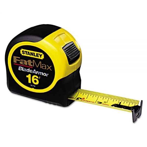 Stanley Tools FatMax Blade Armor Reinforced Tape Measure, 1 1/4in x 16ft