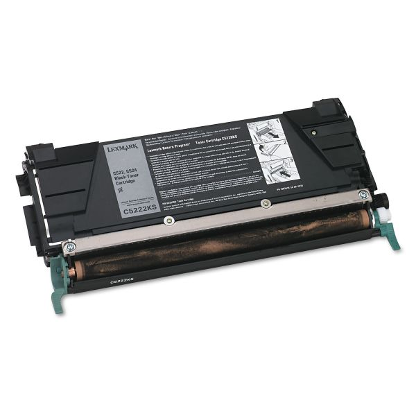 Lexmark C5222KS Black Toner Cartridge