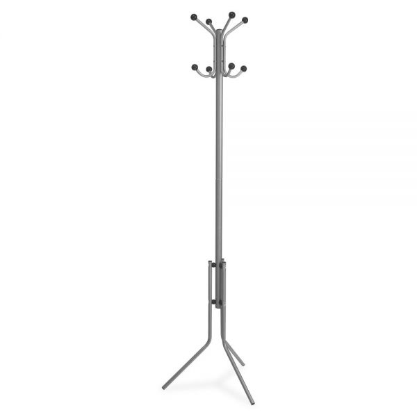 Lorell Tripod Base Metal Coat Rack