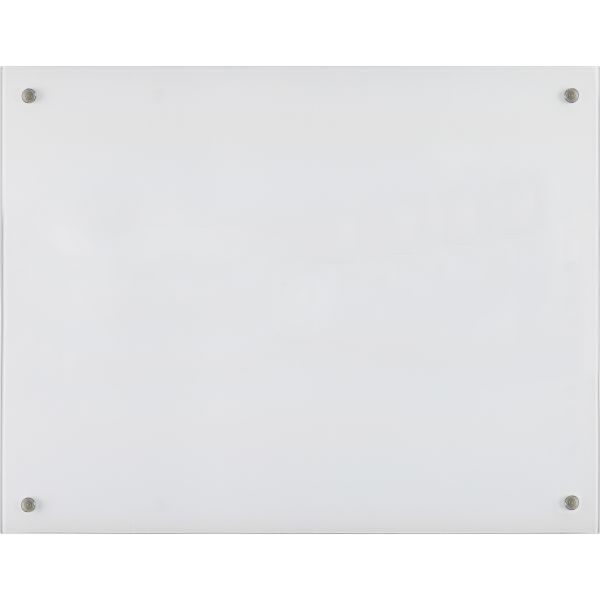 "Lorell 48"" x 36"" Glass Dry Erase Whiteboard"