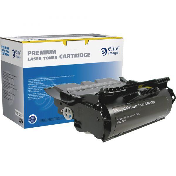 Elite Image Remanufactured Toner Cartridge - Alternative for Lexmark (64015HA)