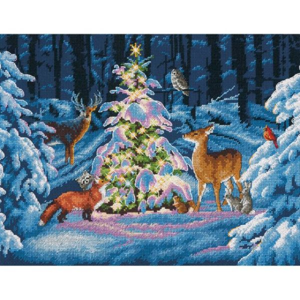 Dimensions Woodland Glow Counted Cross Stitch Kit