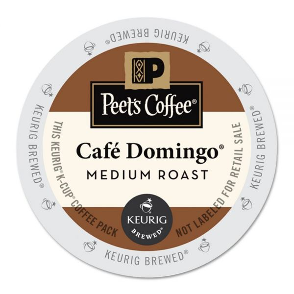 Peet's Coffee Café Domingo Coffee K-Cups