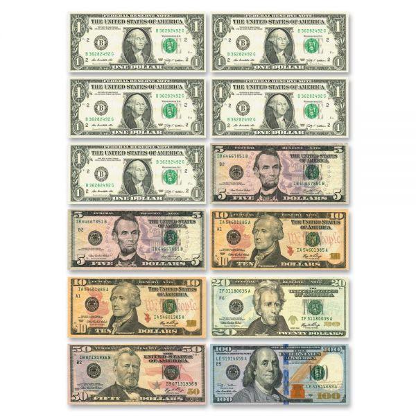 Ashley US Dollar Bill Set Die-cut Magnets