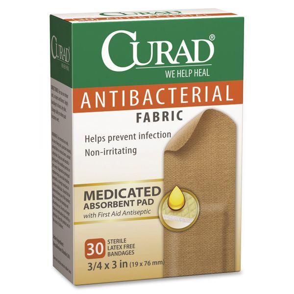 Curad Antibacterial Fabric Bandages