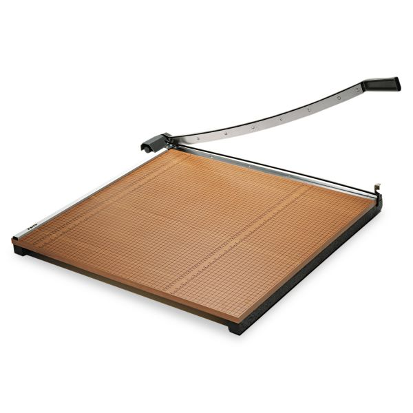 """X-ACTO Wood Base Guillotine 30"""" Paper Cutter"""