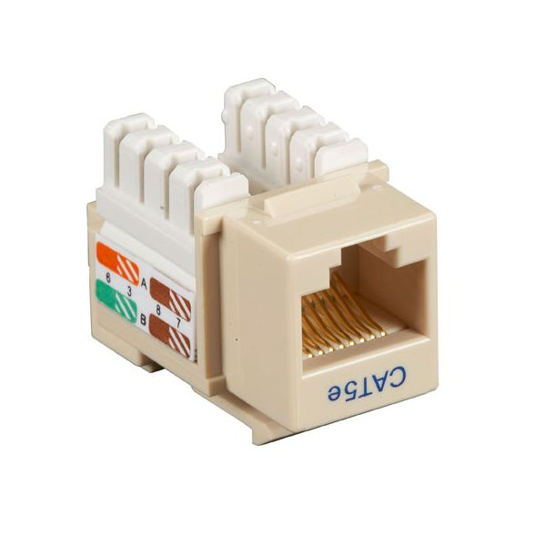Black Box CAT5e Value Line Keystone Jack, Gray