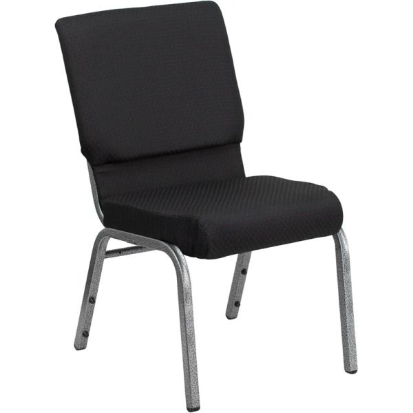 Flash Furniture Black Fabric Big & Tall Church Chair