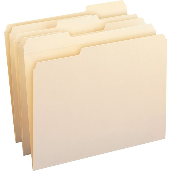 Smead Reinforced Tab Top Tab Manila File Folders