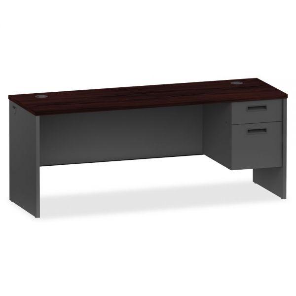 Lorell 97000 Series Modular Right Pedestal Computer Desk