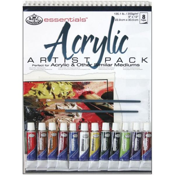 Essentials Acrylic Artist Pack