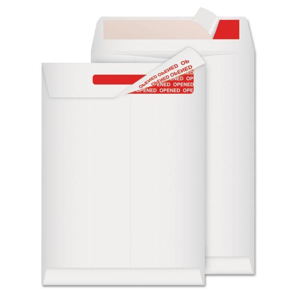 Quality Park Advantage Flap Stik Tyvek Mailer, 9 x 12, White, 100/Box