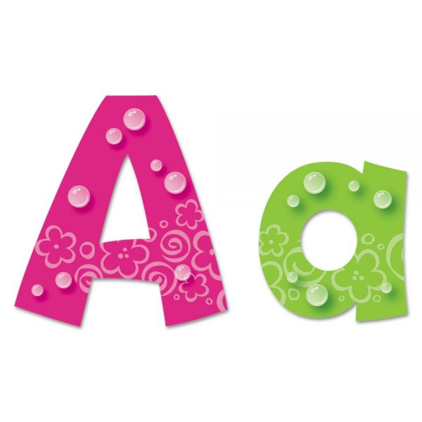TREND Bubbles Uppercase/Lowercase Ready Letters