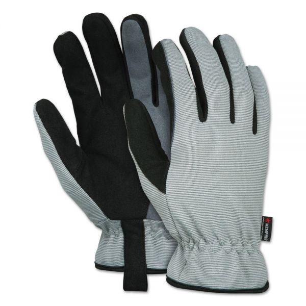 MCR Safety 913 Multi-Task Gloves, Medium, Gray/Black