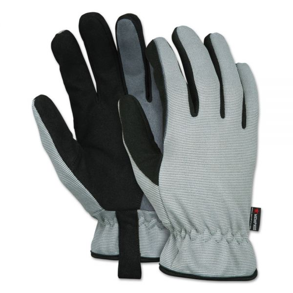 Memphis 913 Multi-Task Gloves, Medium, Gray/Black