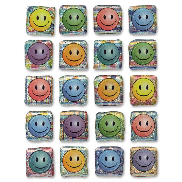 Creativity Street Peel & Stick Smiley Face Gemstone Stickers