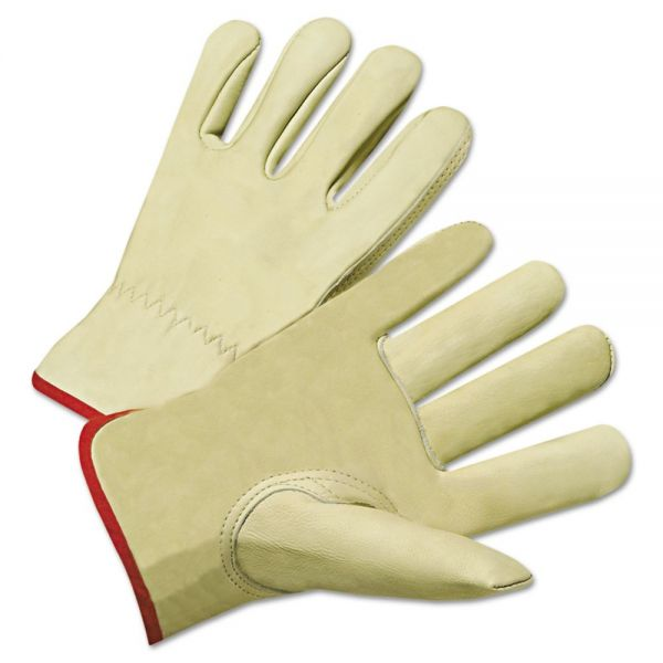 Anchor Brand 4000 Series Cowhide Leather Driver Gloves, XL