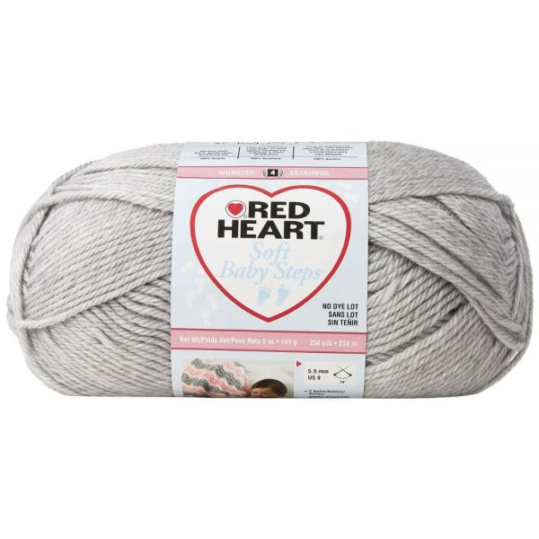 Red Heart Soft Baby Steps Yarn - Elephant