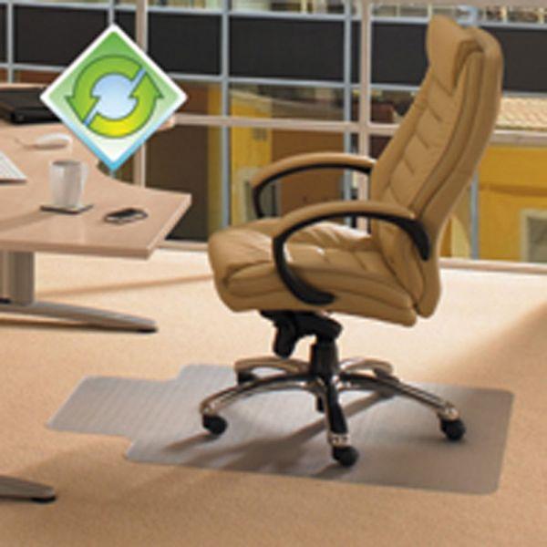 Floortex EcoTex Revolutionmat Recycled Medium Pile Chair Mat