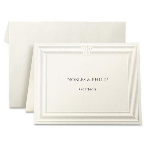 First Base Overtures Embossed Note Cards