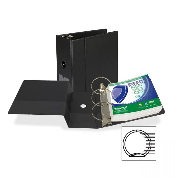 """Samsill Clean Touch 5"""" 3-Ring Binder"""