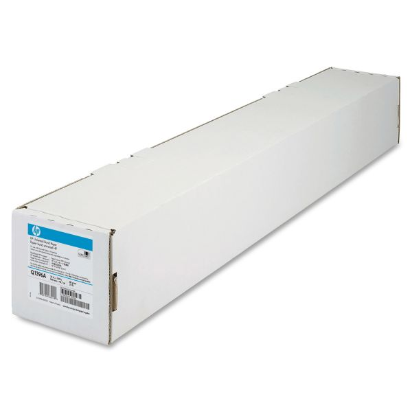 "HP Designjet Universal Wide Format Bond Paper, 21 lbs., 4.2 mil, 24"" x150 ft., White"