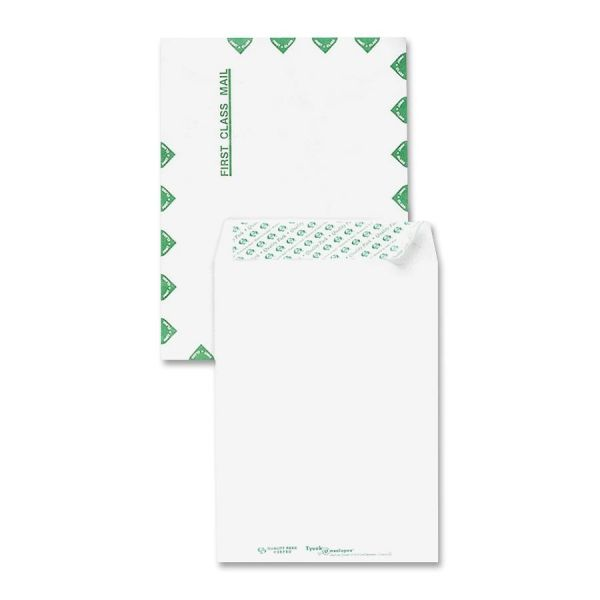 """Sparco 12"""" x 15 1/2"""" First Class Tyvek Envelopes"""