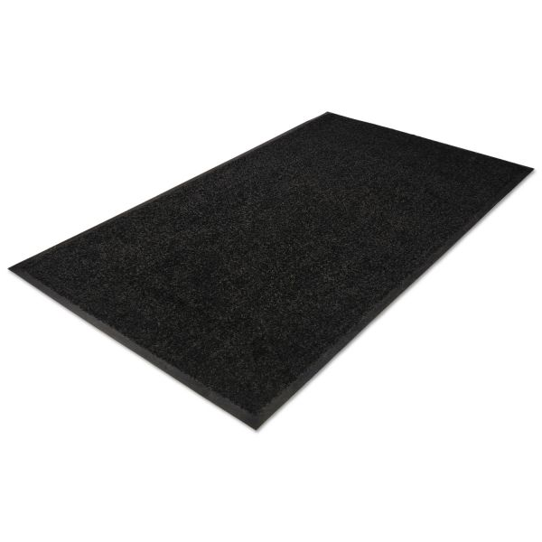 Guardian Platinum Series Indoor Wiper Mat, Nylon/Polypropylene, 48 x 72, Black