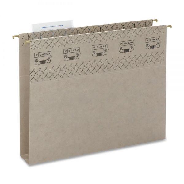 Smead TUFF Hanging Box Bottom File Folders with Easy Slide Tab