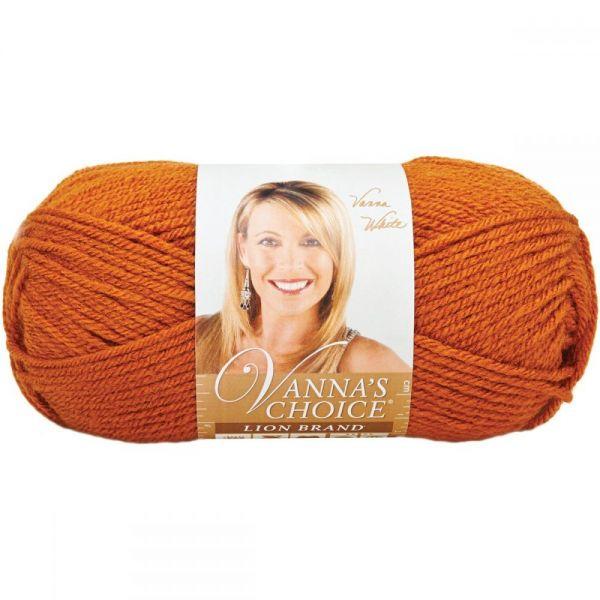 Lion Brand Vanna's Choice Yarn - Rust
