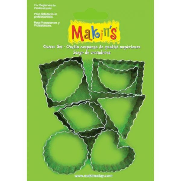 Makin's Clay Cutters 9/Pkg