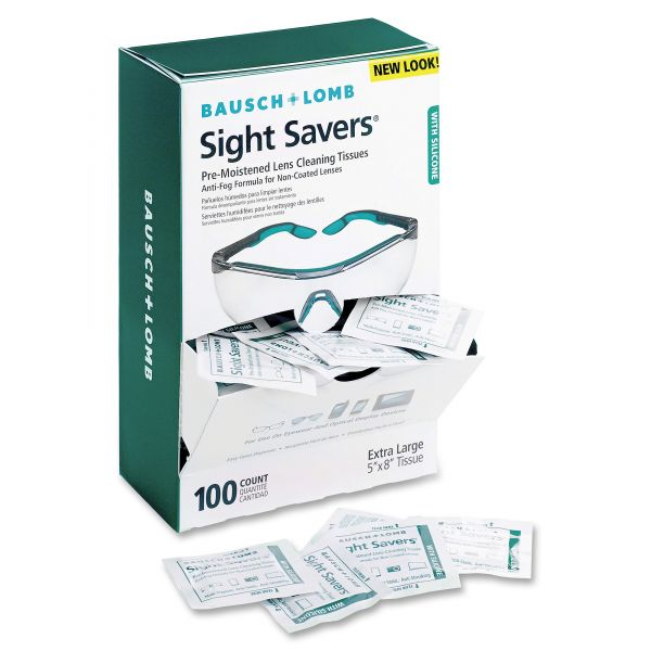 Bausch & Lomb Sight Savers Pre-Moistened Anti-Fog Tissues