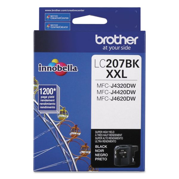 Brother Innobella Super High-Yield LC207BK XXL Black Ink Cartridge