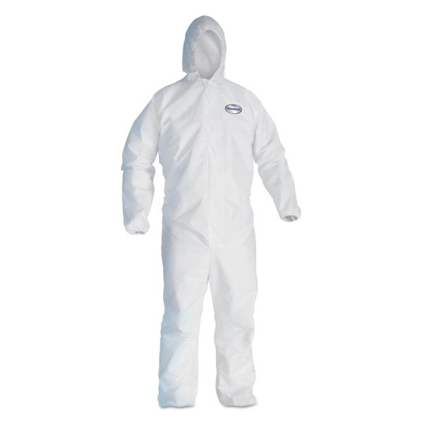 KleenGuard* A20 Breathable Particle Protection Coveralls, XL, Blue, 25/Carton
