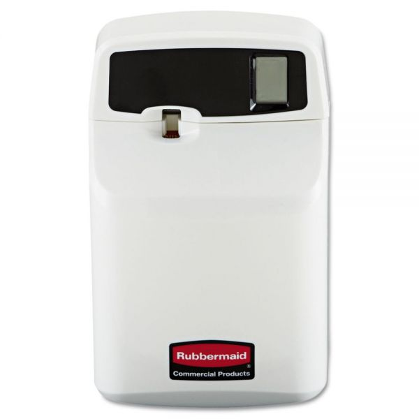 Rubbermaid Commercial SeBreeze Programmable Odor Neutralizer Dispenser, 4 3/4 x 3 1/8 x 7 1/2, White