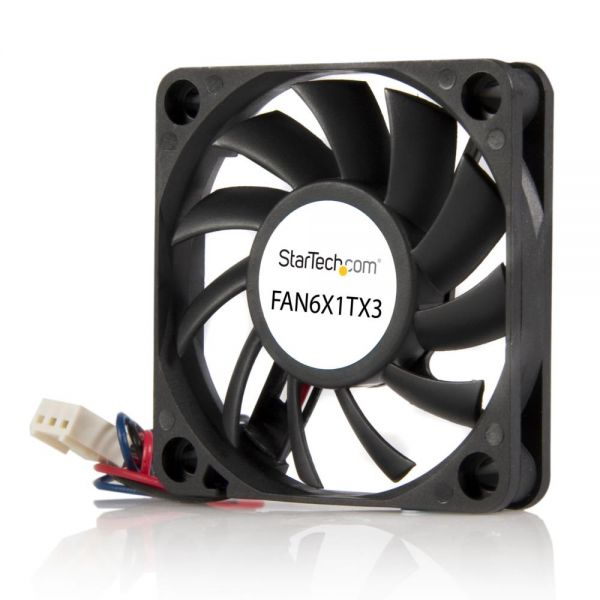 StarTech.com 60x10mm Replacement Ball Bearing Computer Case Fan w/ TX3 Connector